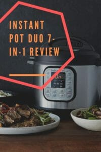 Instant Pot Duo Pressure Cooker Review Pinterest Image