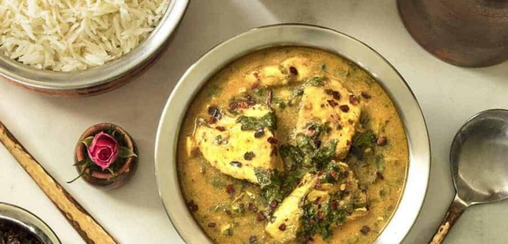 Instant Pot Fish Saag - Fish Curry